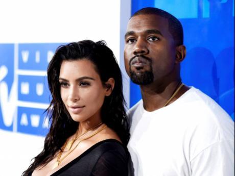 AP Kim Kardashian West and Kanye West