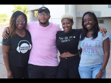 Members of RARE, creators of the upcoming Ash J'ouvert . From left: Shaneel Simpson, Jerome McKellar, Candice 'Needlez' Davis and Dahvia Wedderburn