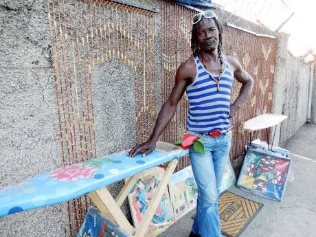 Wynter can be found on South Avenue, St Andrew, where he sells various items.
