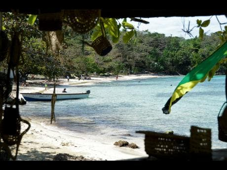 Winnifred Beach is another piece of Jamaica's island paradise.