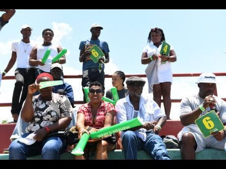 Portlanders came out to enjoy the SDC national Community T20 cricket competition match, held in Buff Bay,Portland.