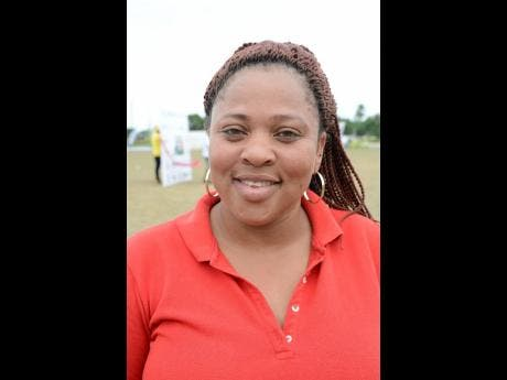 Kareen Scott, manager of the Johnson Mountain Cricket team in St Thomas.