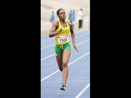 Natalliah Whyte during her time as a St Jago High School athlete.