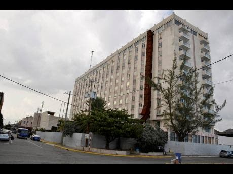 The former Oceana Hotel that will be reopened as ROK, Kingston.