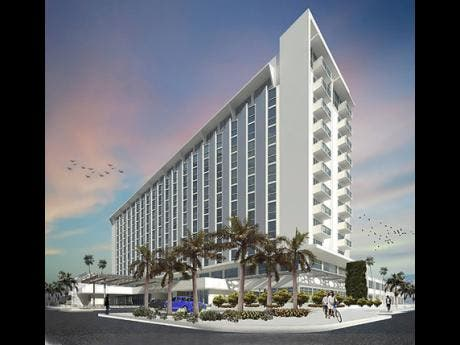 The ROK Hotel, Kingston, is expected to bring visitors to downtown Kingston.