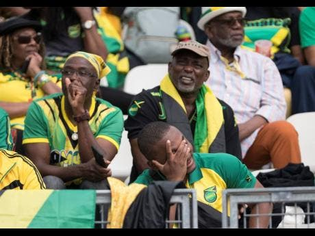 Jamaican supporters in the Stade des Alpes were distraught as the Reggae Girlz were beaten 3-0 by Brazil in their opening match at the 2019 FIFA Women's World Cup in France yesterday.