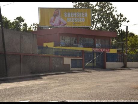 Seen here is one of the billboards used as a promotional strategy for Shenseea's latest single 'Blessed', located on Red Hills Road.