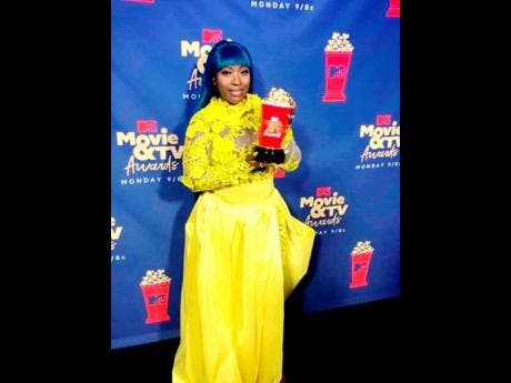 Spice holds the 2019 MTV Movie and TV Awards for 'Best Reality Royalty' that was won by 'Love & Hip Hop: Atlanta'.