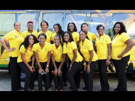 Front (from left): Adean Thomas, Shanice Beckford, Nicole Dixon, Khadijah Williams, Primary Care Wendi Peart, Patrice Simmonds-Brooks and coach Marvette Anderson.<\n>Back row (from left): Team manager Leonie Phinn, Vangelee Williams, Stacian Facey, Kerry-Ann Brown, Jodi-Ann Ward and Rebekah Robinson. The players missing from photograph are Romelda Aiken, Jhaniele Fowler-Reid, Shemera Sterling, Paula Thompson and Shimona Nelson.