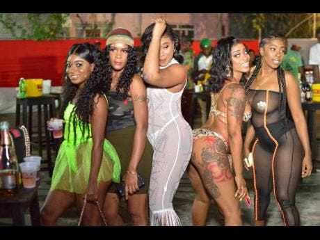 Drip Drip and held at Poolside, at the Olympia Crown Hotel, located at 53 Molynes Road was a Pon Di Spot TV production.