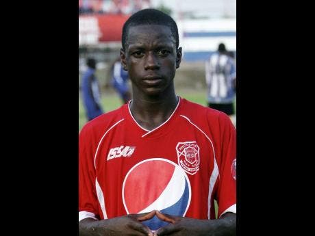 Mattocks during his days as a Manning Cup player for Bridgeport High School.