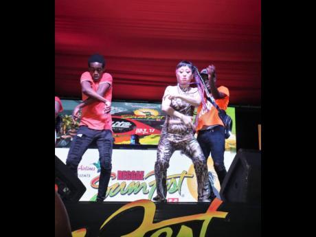 Reggae Sumfest street dance in Montego Bay, St James.