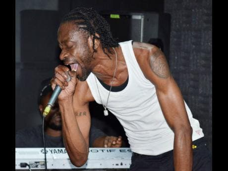 Bounty Killer gives a taste of what he will bring to the Reggae Sumfest stage.