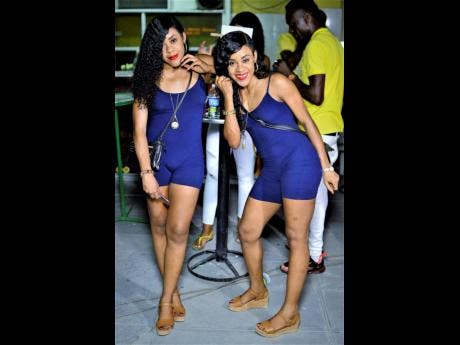 Dancehall twins K-Queens show their support