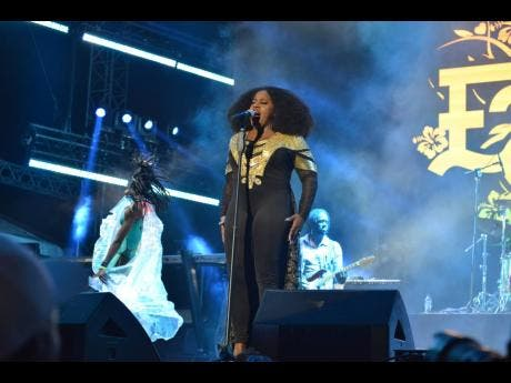 Etana returns in style to the Reggae Sumfest stage.