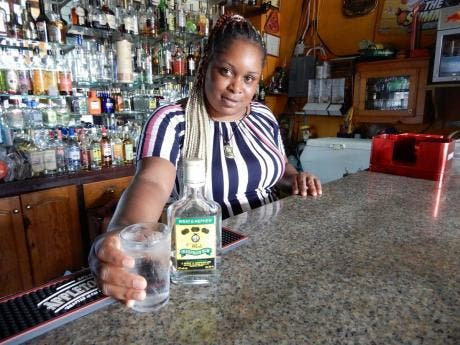 Shanique serves up a flask of the good stuff.