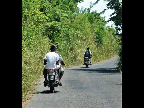 Bike taxis keep St Thomas residents moving | News | Jamaica Star
