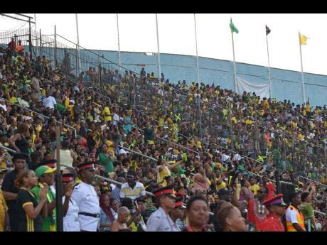 A section of the crowd at the National Stadium during last year's Grand Gala.
