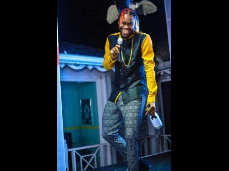 Music producer Notnice couldn't contain his joy at his Record label's album launch titled Kyng Midas.