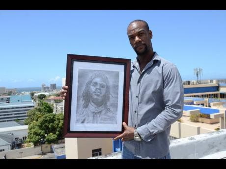 Rudolph Francis says he has been drawing since he was six years old.