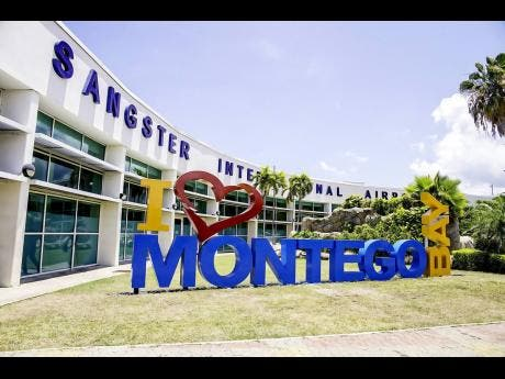 Sangster International Airport in Montego Bay.