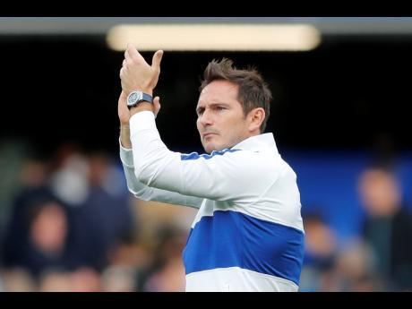 Chelsea's head coach Frank Lampard