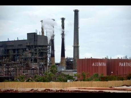The Alpart bauxite plant in Nain, St Elizabeth.