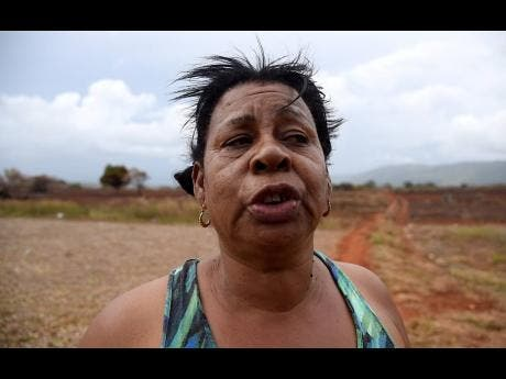 Zenora Davis says many children in South West St Elizabeth will not be able to go back to school because of the impact of a fire that ravaged farmlands last week.