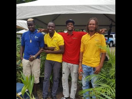 Landscapers who are part of Flourish Landscaping