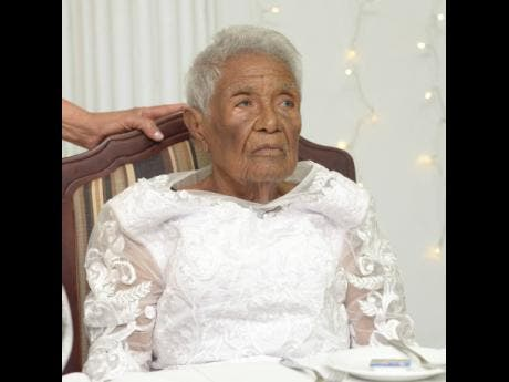 Dorothy 'Hadassah' celebrated her 100th birthday with family and friends at the Medallion Hall Hotel in Kingston on Saturday.