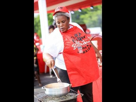 Charmaine Pryce shows off her skills as she competes in the PAN 2019 regional competition. Pryce emerged winner for Hanover and advances to the PAN 2019 Grand Final, which is scheduled for Sunday October 27 at Grizzly's Plantation in St Ann.