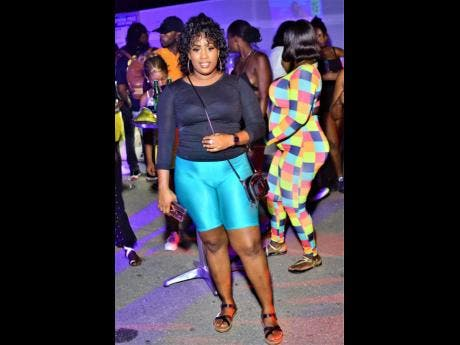 Thickas Baby flashes a smile.