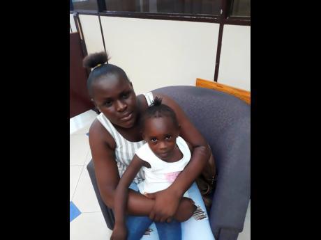 Photos By Simone Morgan-Lindo Sharika Dunn and her daughter, Paris.