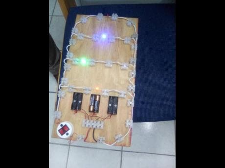 The students will start out learning how to build circuit boards.
