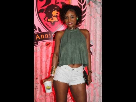 Carnival Nduzi director Takiya Brown steps into the Caymanas Golf Club for a memorable night.