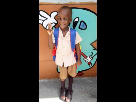 Five-year-old Mickel Miller.