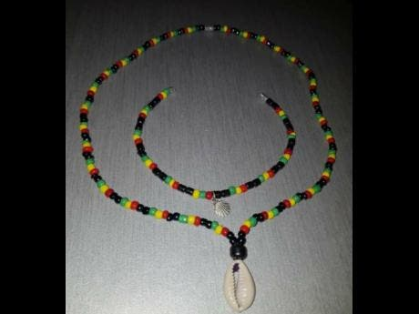 Hnadcrafted jewelry created and sold by Leon Evans.