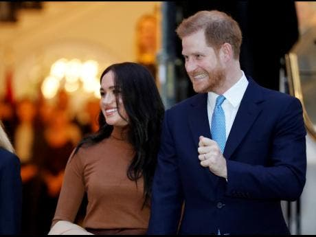 Britain's Prince Harry and Meghan, Duchess of Sussex