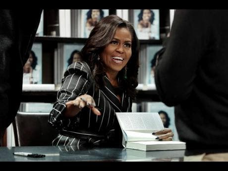 Former US First Lady Michelle Obama.