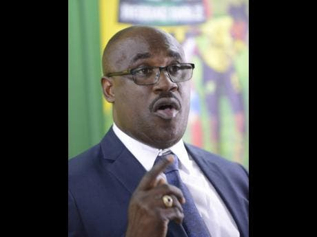 Dalton Wint, general secretary, Jamaica Football Federation.