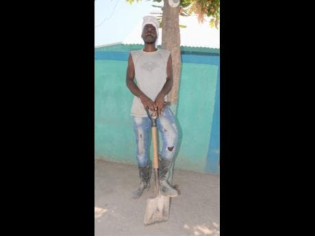 Romaine Dowey is one of the persons who  has being benefiting from short-term employment.