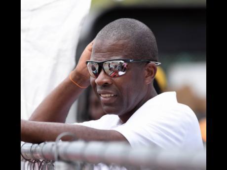 Edwin Allen's head coach Michael Dyke