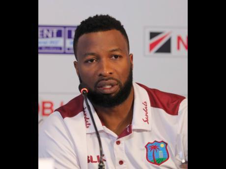 West Indies captain Kieran Pollard