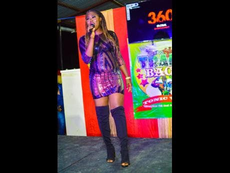 Songbird Trenae thrilled the audience with her melodic voice.