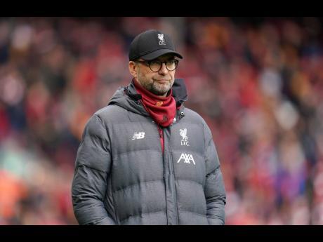 Liverpool's manager Jurgen Klopp.