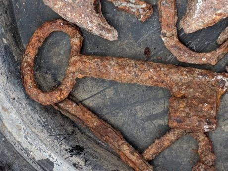 What would you do if you find these items in your backyard?