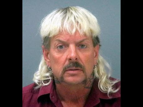 This undated file photo provided by the Santa Rose County Jail in Milton, Florida, shows Joseph Maldonado-Passage, also known as Joe Exotic.