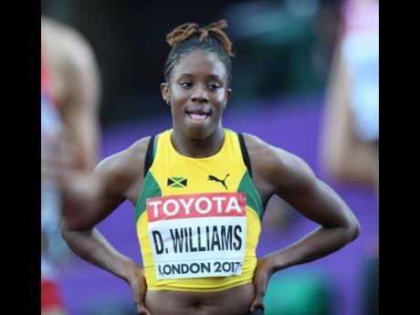 Danielle Williams, the 2015 World 100m hurdles champion.