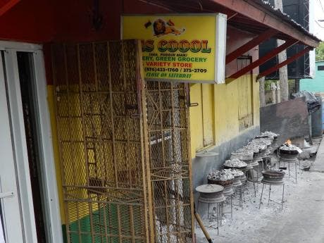 Jus Cool in St Ann has seen reduced business since COVID-19 hit Jamaican shores, but Wallace said he is grateful he can keep his doors open.