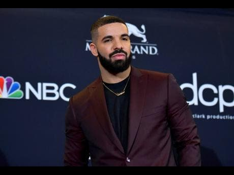 Drake at the Billboard Music Awards in Las Vegas.